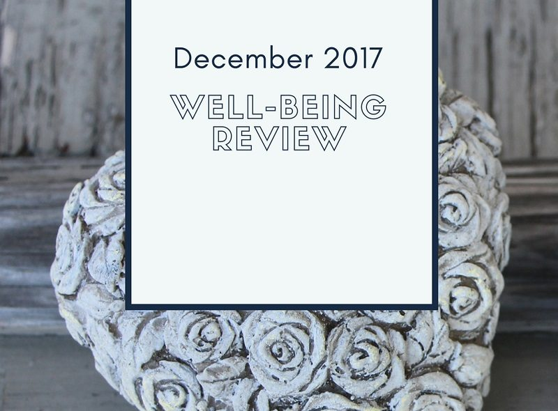 Simply-Shine - December 2017 Well-Being Review