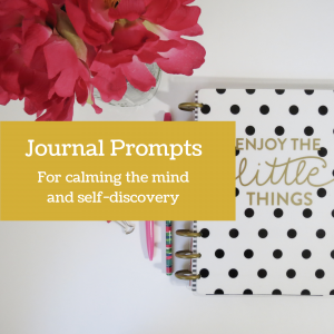 journal prompts download